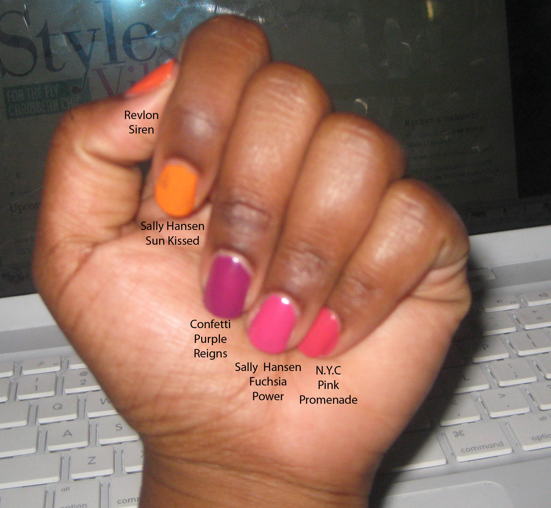 Summer Nail Polish Colors - Style & Vibes