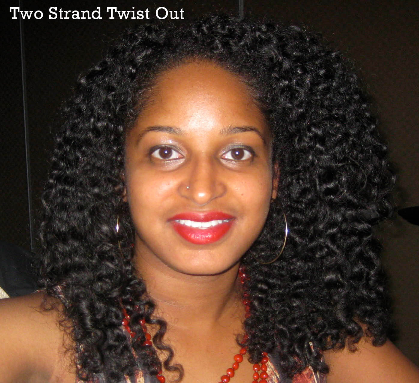 Natural Hair: Twist Out