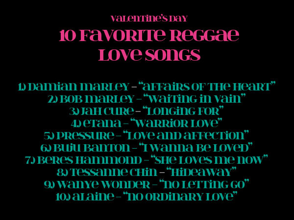 Top rated love songs