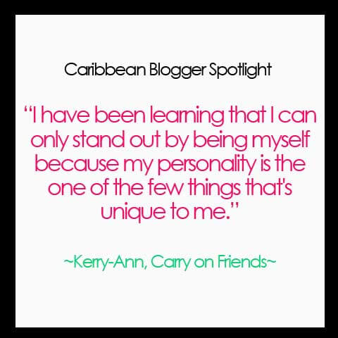 Carry on Friends Podcast Kerry Ann Quote
