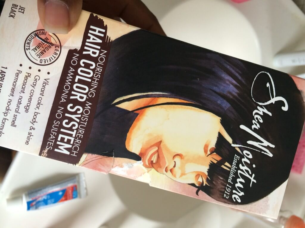 Shea Moisuture Hair Color System 1