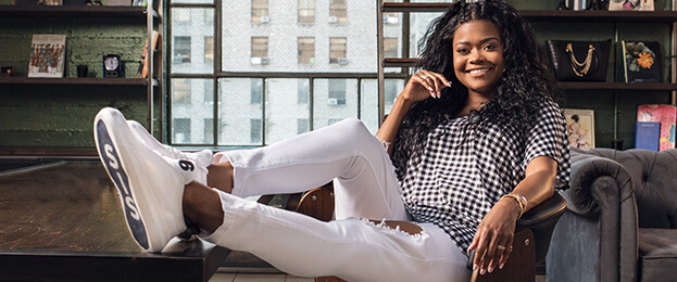 Karen Civil for K.Swiss' Generation K Line