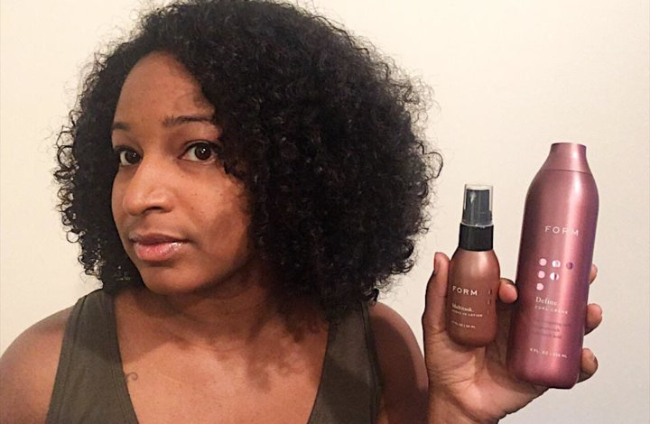FORM Beauty Review: Wash & Go Routine in 15 minutes